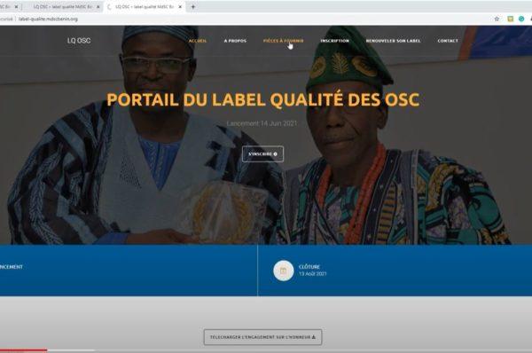 Comment postuler pour le label qualité des OSC?