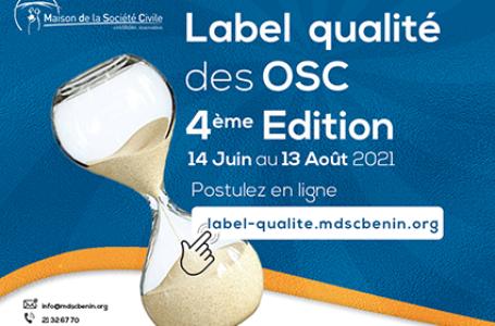 Label qualité des OSC béninoises : 4è édition