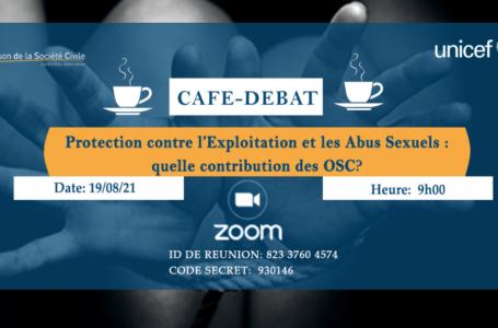 Café-débat en ligne