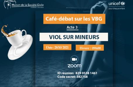 CAFE-DEBAT N°18 : VIOLS SUR MINEURS